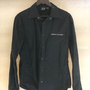 Armani Exchange men's button up shirt